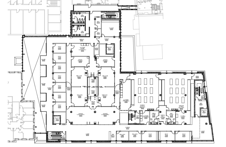 Clinical Simulation Centre Floor Plan