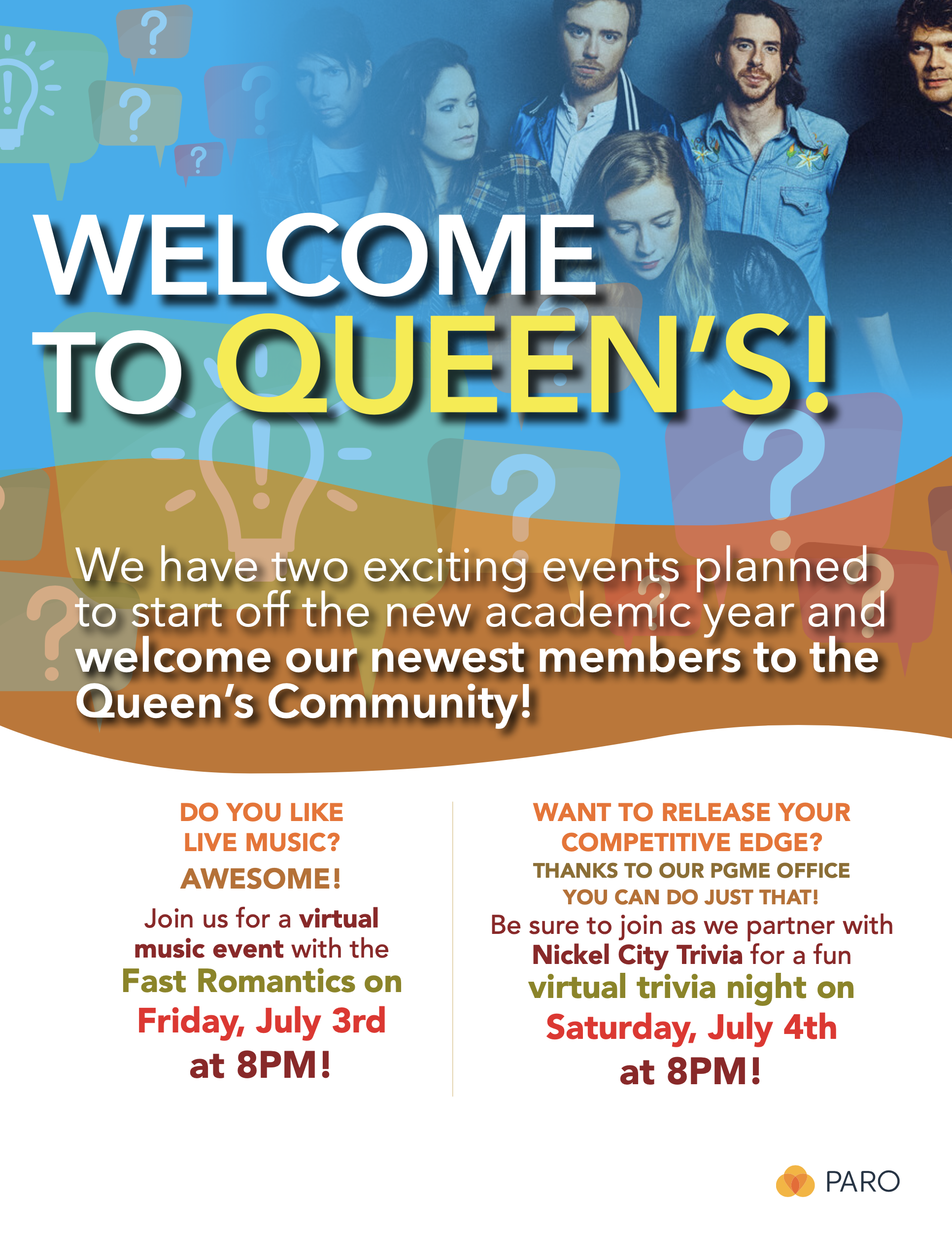 Welcome to Queen's!