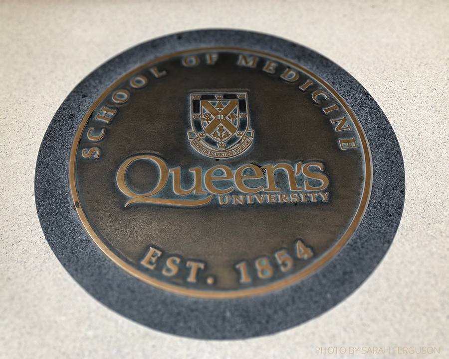 Queen's School of Medicine Floor Crest