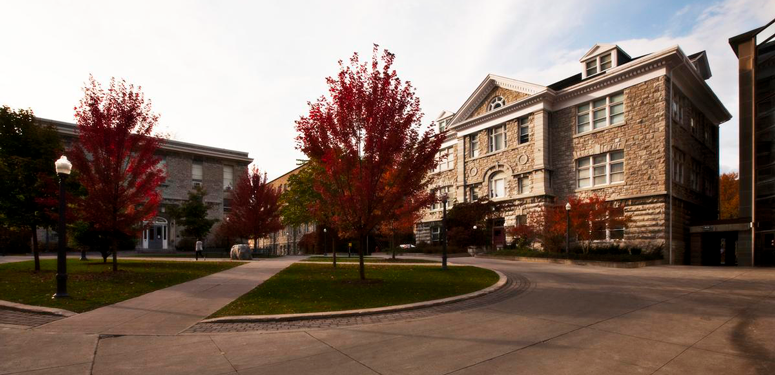 Old Medical Square on Queen's Campus in Kingston, Ontario